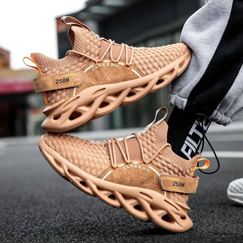 Lover Sneakers Shoes 2020 Fashion Plus Size 46 Light Casual Shoes Women Running Sneakers Breathable Walking Men Shoes Brownu