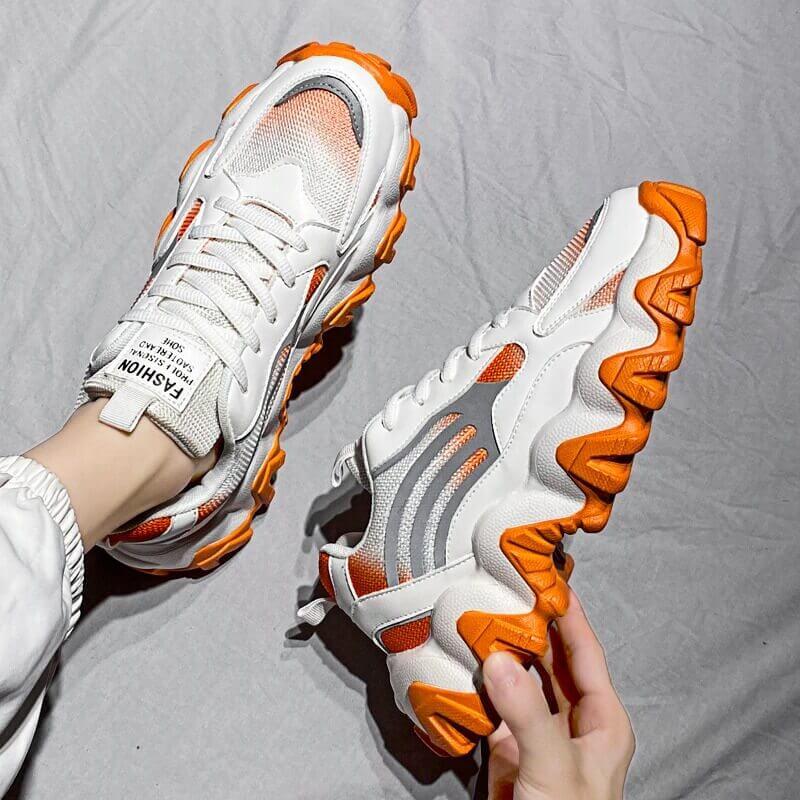 luxury atyle Running Shoes Breathable Men Sock Sport Sneaker Lace Up Light Couple Walking Shoe Outdoor Footwear Big Size