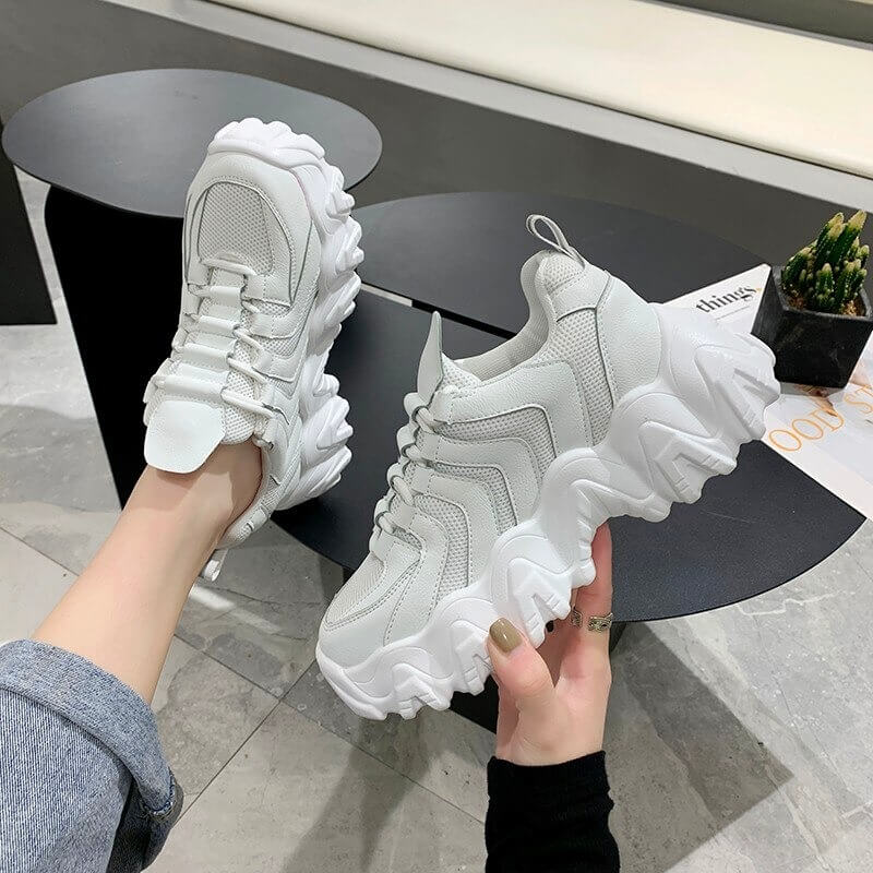 Symphony Shoes Woman ERNESTNM Bling Women Sneakers Tenis Feminino Comfortable Breathable Thick Sole Casual High Quality Shoes