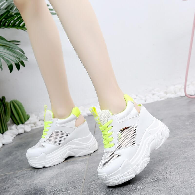 Lucyever Women Sandals 2019 Summer Fashion Hollow Out Wedges Gladiator Sandalias High Heel Chunky Platform Casual Shoes Woman