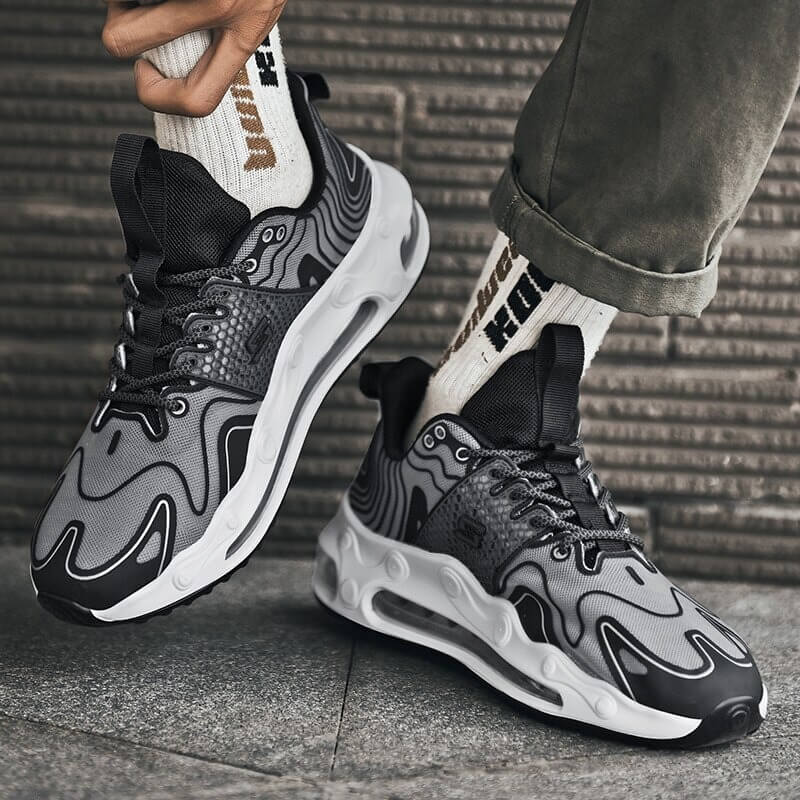New Men Sneakers Men's Casual Shoes Air Cushion Sneaker Tennis Underfoot for Unimaginable All-day Enhanced Comfort Mens Shoes