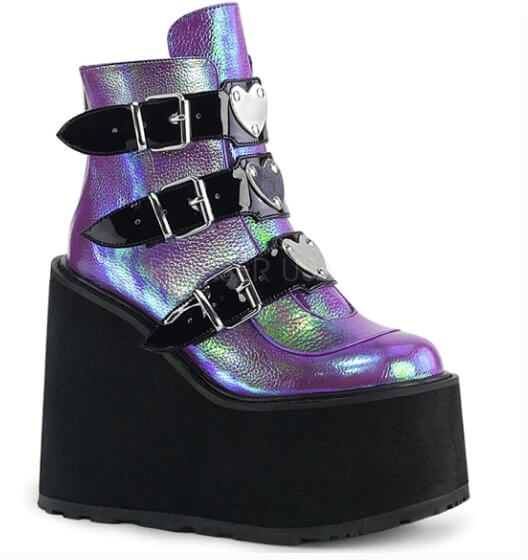 NASIK BOOT METAL BUCKLE ANKLE FOR WOMEN - NEVADA™