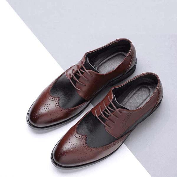 Men's leather shoe