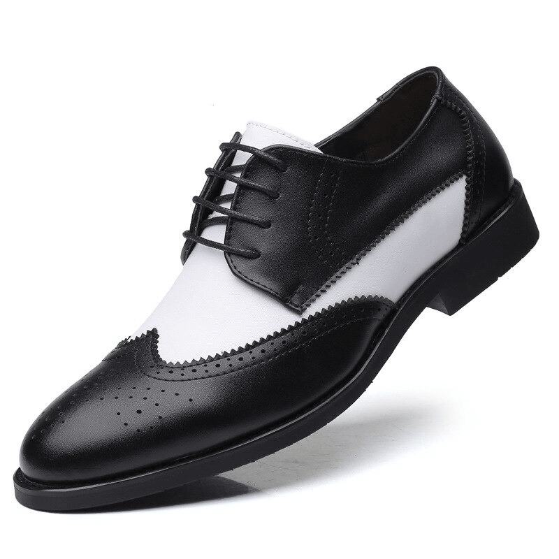 POINTED COW LEATHER MEN SHOE - NEVADA™