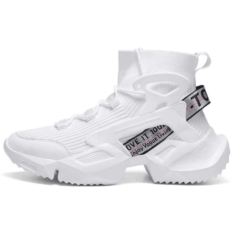 High Top Sneakers Men Trend Hot Sale Comfortable and Non-slip, Casual Shoes Outdoor Non-slip Breathable
