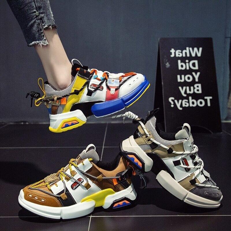 Women nevada sneaker Patchwork Fashion