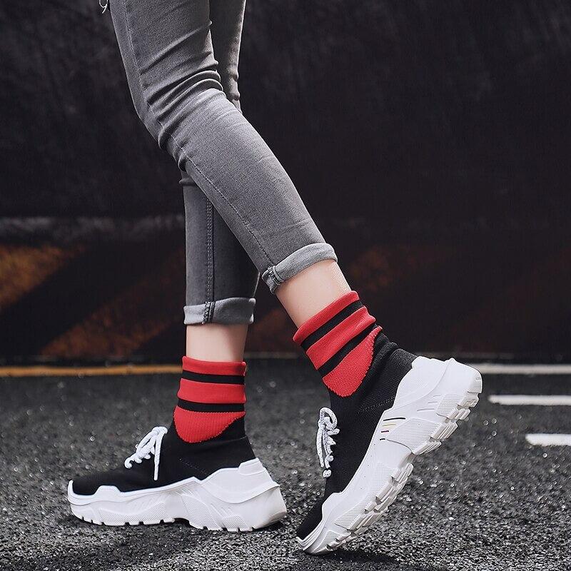 High Top Sneakers Women
