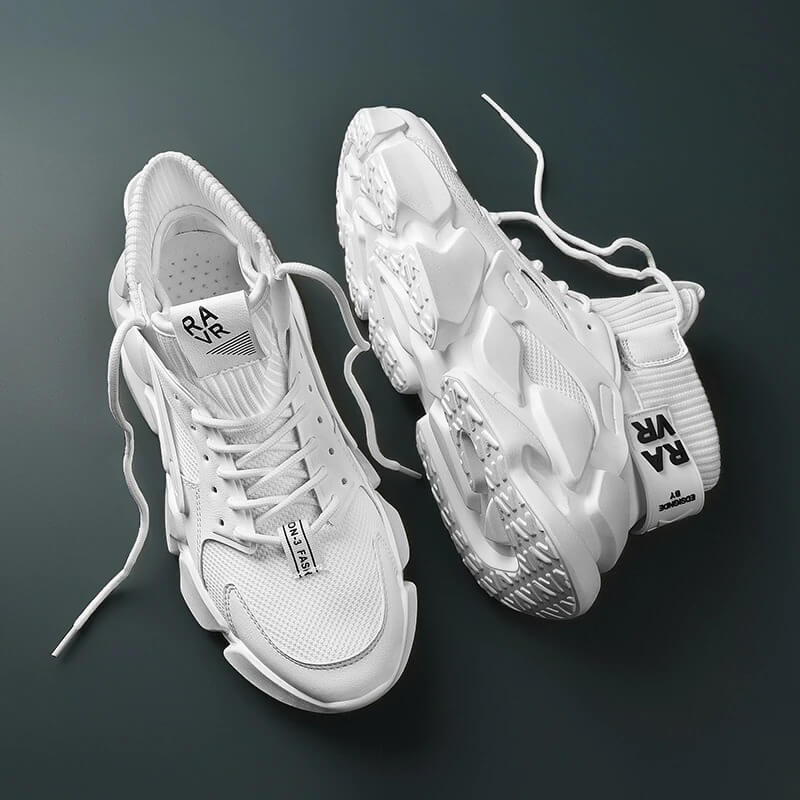 Men nevada Chunky High-top Men's Sneaker Heighten, Shoe Autumn with Plus Sizes