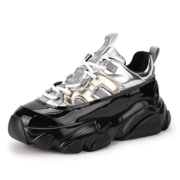 Women Nevada Genuine Patent Leather Breathable sneaker