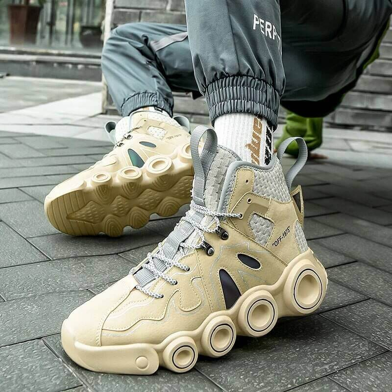 Nevada Shoe Men Personality, Trendy Shoe Thick Soled Increased, Men Sneaker Luminous Outdoor Walking Hombre