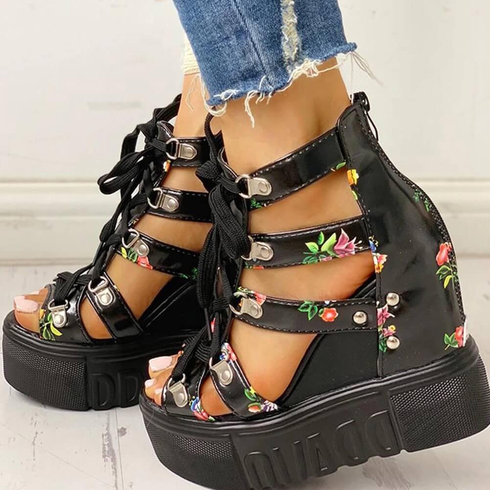 women Nevada sandal high heel summer