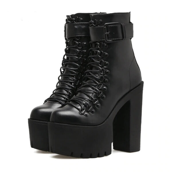 Women Nevada Motorcycle Boots Women Leather