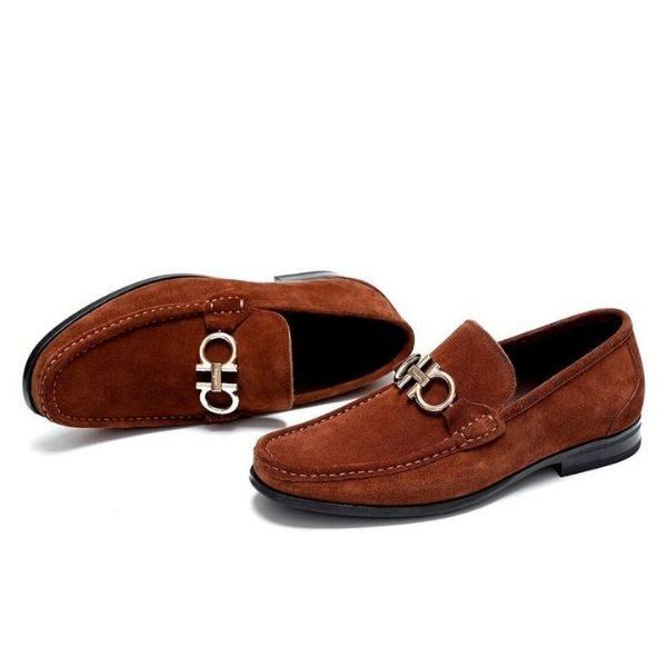 Luxury Business Pattern Shoe Fo Men's