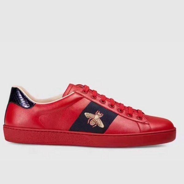 Luxury Men's embroidered sneaker