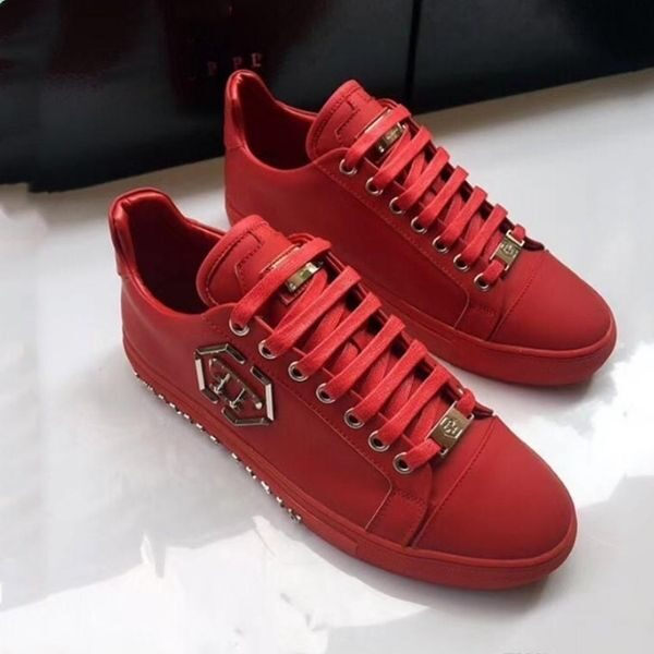Luxury Shoe leather Intertwined Philip