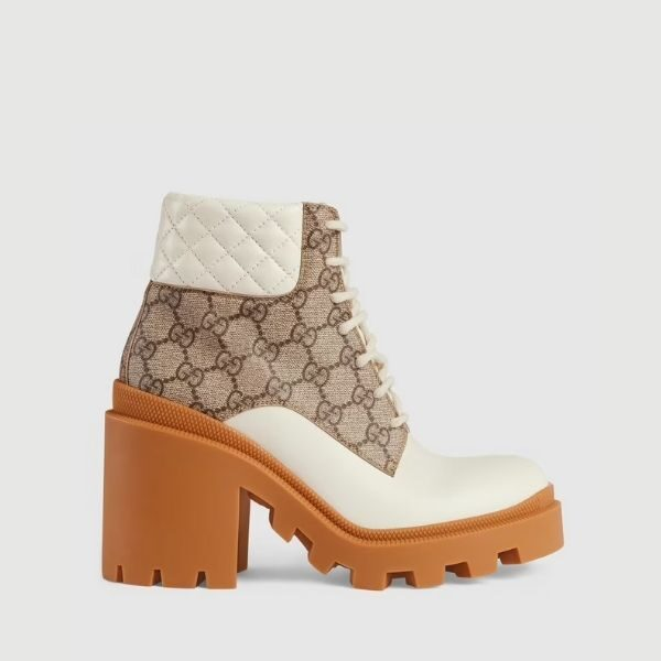 Luxury Women's and men's G.G ankle boot